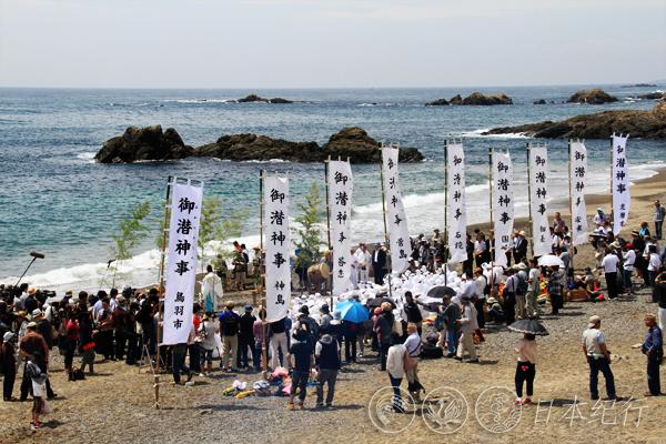 日本海女_日本海女节,再现140年前的风情(三重县鸟羽市)